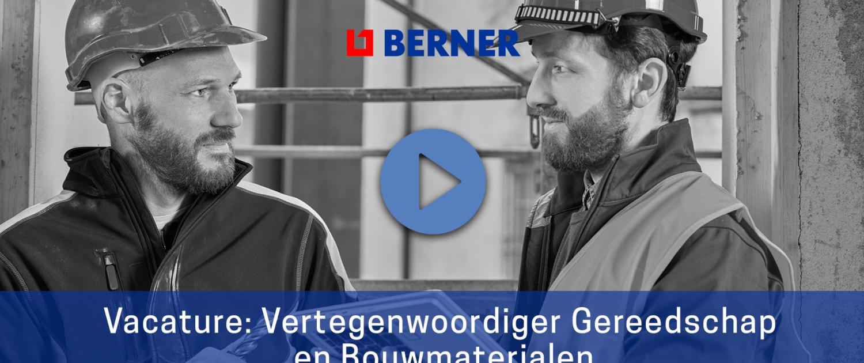 vacaturevideo Berner Produkten afbeelding